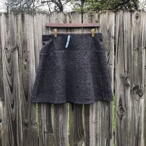 NWT medium petite gray loft skirt